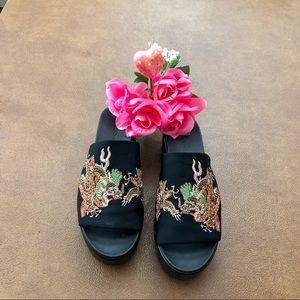 Bebe Women's sandals Size 8